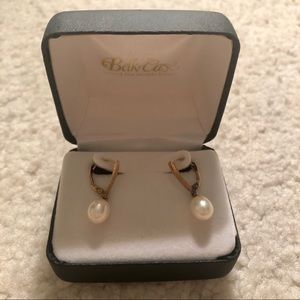 Belk pearl earrings